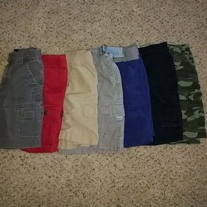 Lot of Boys 4T Shorts (7 Items)